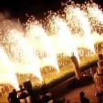 Effetto Speciale di Fontane di Fuoco Danzanti al Taglio Torta…Euro 300,00*