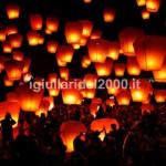 Effetto Speciale di Volo Lanterne di Fuoco al Taglio Torta…Euro ......*