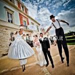 Trampolieri Nuziali Sposo e Sposa per Uscita Chiesa Nuziale…Euro 350,00*