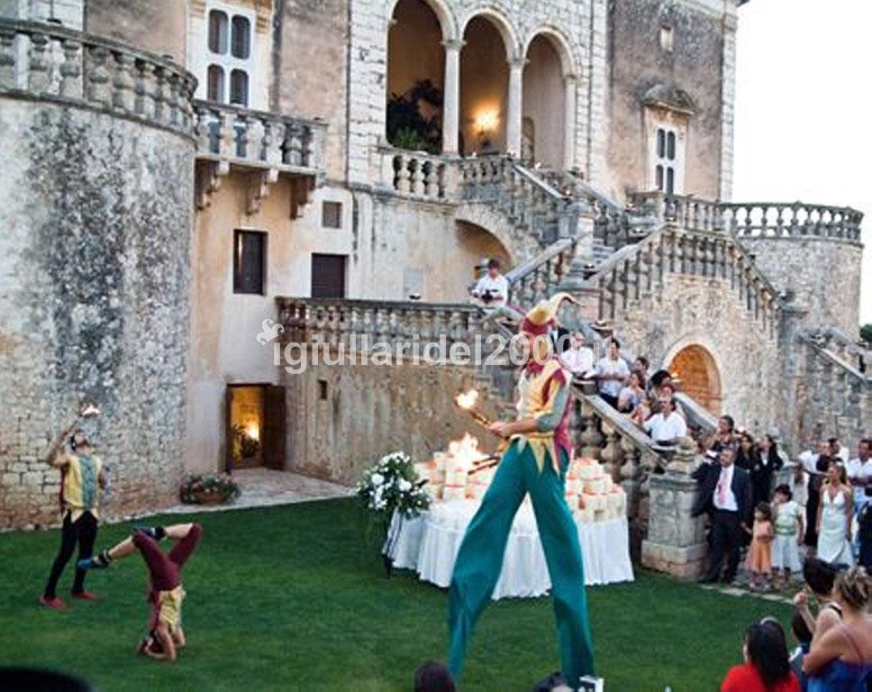 """Animazione di Accoglienza Sposi """"La Corte in Festa"""""""