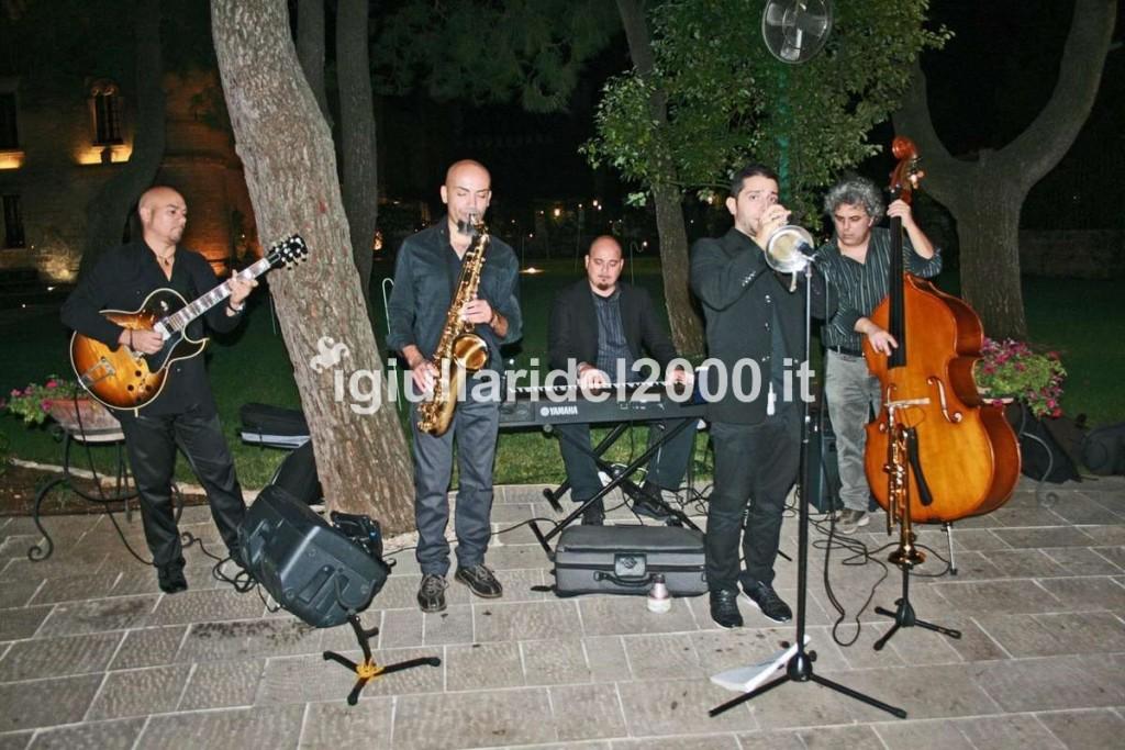 Jazz-band-per-accoglienza-sposi