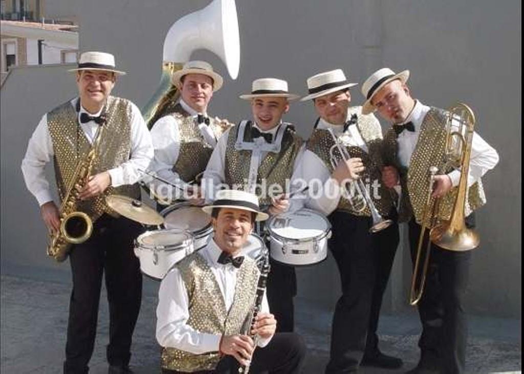 Mini Band Città in festa per ricevimenti