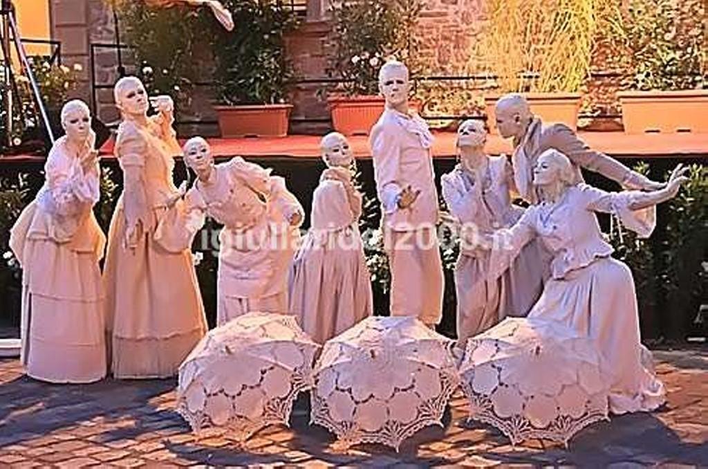 Statue Viventi Show by I Giullari del 2000